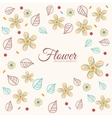 decor flower template concept Icons design for vector image vector image