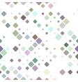 geometrical diagonal square pattern - mosaic vector image vector image