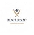 Restaurant Shop Design Element vector image vector image
