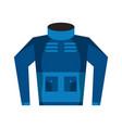 winter clothes icon image vector image