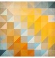 Abstract triangles geometry background vector image vector image