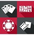 casino icon Eps10 vector image