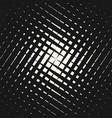 dark halftone geometric pattern crossing lines vector image vector image