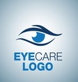EYE CARE LOGO 1 vector image vector image