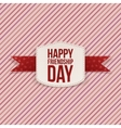 Friendship Day paper greeting Card vector image vector image