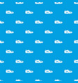golf shoe pattern seamless blue vector image vector image