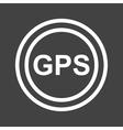 GPS I vector image