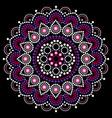 mandala dot painting design aboriginal vector image vector image