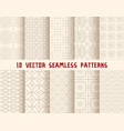oriental or asian seamless pattern background vector image