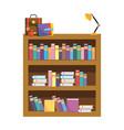 school study element cartoon vector image vector image
