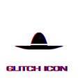 sombrero icon flat vector image