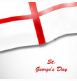 christian st george day vector image