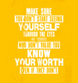 inspiring motivation quote sure you do not start vector image vector image