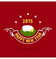New Year and lamb vector image
