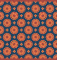 seamless mandala pattern vintage elements in vector image vector image