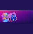 strategy online games concept banner header vector image vector image