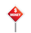 US Dollar Money Sign vector image
