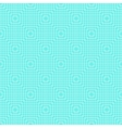 White Line Squares Seamless Pattern on blue vector image