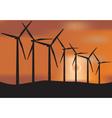 wind farm vector image vector image