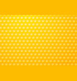 yellow background motive bee honeycombs vector image