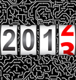 2013 New Year counter vector image vector image