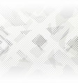 abstract gray halftone background vector image vector image
