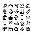 Electronics Icons 8 vector image