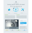 Elements of User Interface for Web vector image vector image