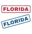 Florida Rubber Stamps vector image