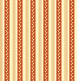 Retro background made with vertical stripes dots vector image