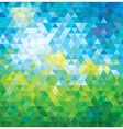 ABSTRACT MOSAIC SUMMER BACKGROUND vector image
