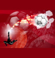 abstract soccer sport background vector image