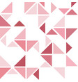 dark pink triangle abstract background vector image vector image