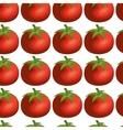 fresh vegetable pattern background vector image vector image