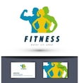 gym logo design template fitness or sports vector image vector image