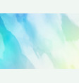 pastel watercolour texture vector image vector image