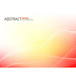 Red Abstract Lines vector image vector image