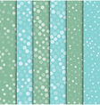 Seamless polka dot patterns background vector image
