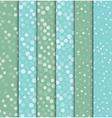 Seamless polka dot patterns background vector image vector image