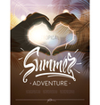 Tropical summer adventure signs vector image vector image