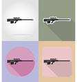 weapon flat icons 14 vector image vector image