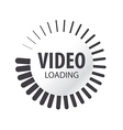 Abstract logo video loading