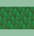 bright green coniferous forest background vector image vector image