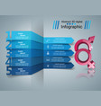 business infographics man and woman icon vector image vector image
