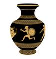 greek vase vector image