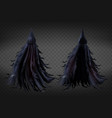 witch costume grim reaper fancy dress vector image