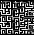 african kuba ethnic seamless pattern vector image