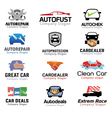 Car Deal And Repair Design vector image vector image