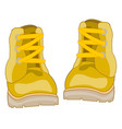 footwear shoe drawing vector image