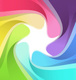 Modern rainbow semitone camera background vector image vector image